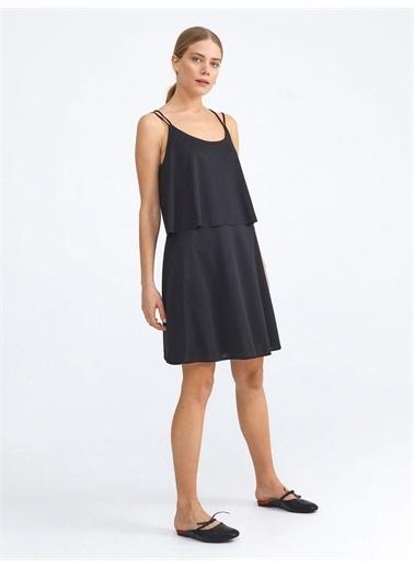 Xint Elbise Siyah